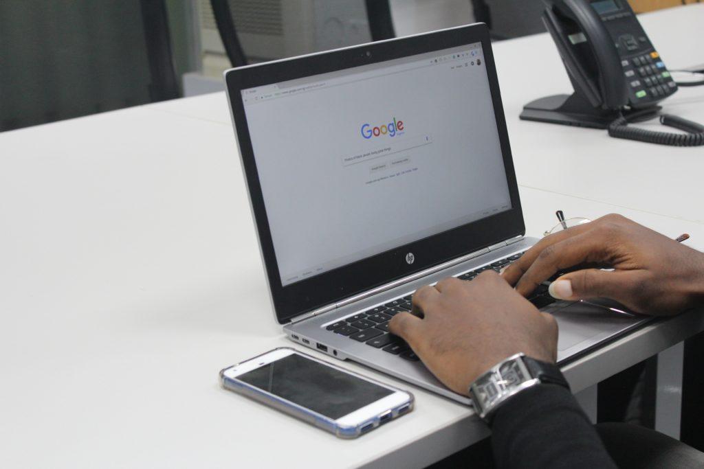 google resultater